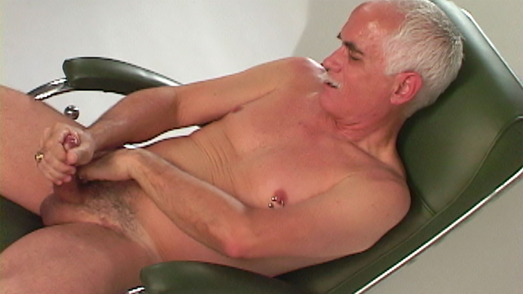 Silver Daddy Michael Burkk is one of our favorite suit daddies. This silver  fox has got a thick, thick cock and he loves to fuck long and deep.