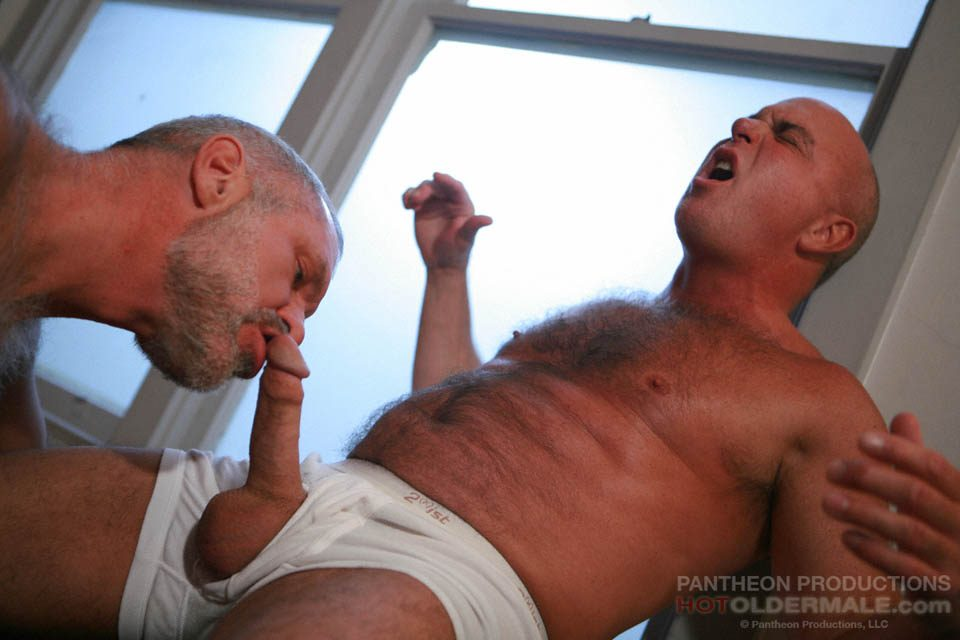 Nuded older men fuckin naked job
