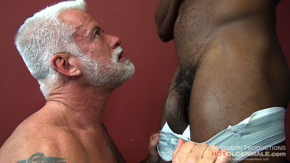 old gay men with gay blacks